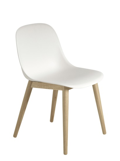 Muuto - FIBER SIDECHAIR Wood Base