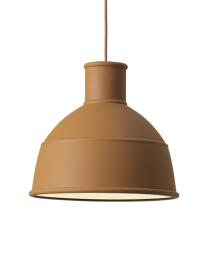 Muuto - UNFOLD Pendant Lamp - 09016 Clay Brown