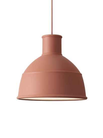Muuto unfold pendant lamp 09013 terracotta muuto unfold pendant lamp 09013 terracotta mozeypictures Choice Image