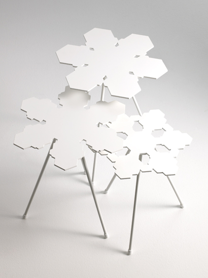 Snowflakes Table - Offecct - Snowflakes Table