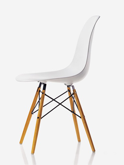 Vitra - Eames Plastic Side Chair - DSW Ahorn gelblich