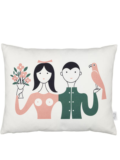 Vitra - Graphic Print Pillows - Couple