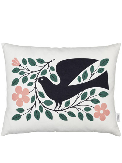 Vitra - Graphic Print Pillows - Dove