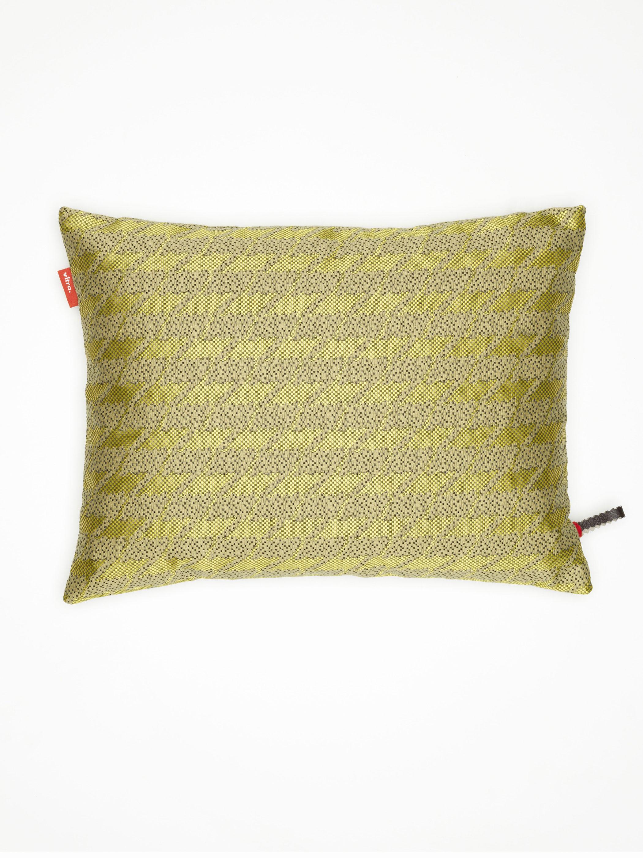 vitra kissen maharam repeat classic houndstooth lemon produktdetails. Black Bedroom Furniture Sets. Home Design Ideas