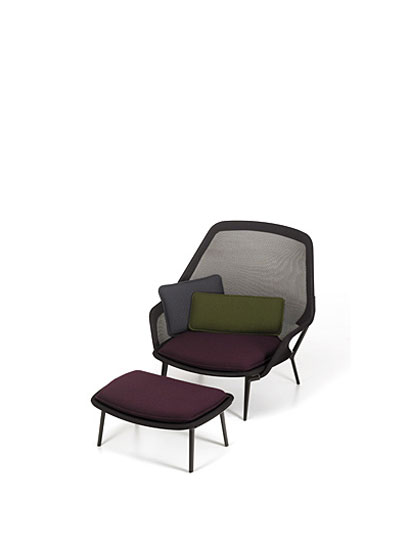 Vitra - Slow Chair - slow-chair-braun