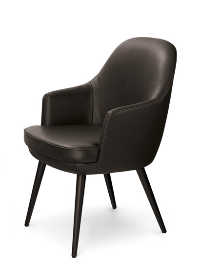 WALTER KNOLL - 375 - Dining Arm Chair