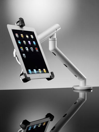 cbs flo dual dynamic arm mit halterung f r zwei bildschirme. Black Bedroom Furniture Sets. Home Design Ideas