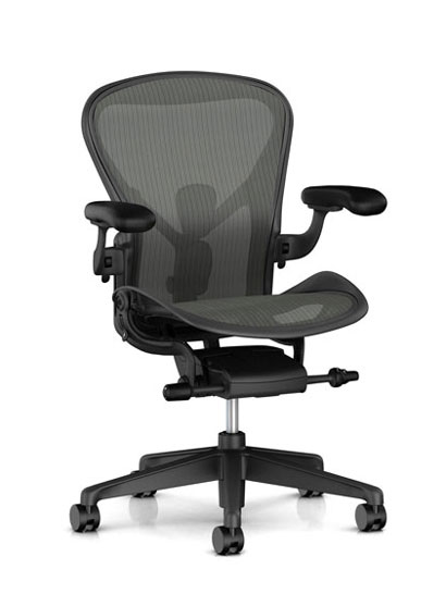 Herman Miller - Aeron remastered (New Aeron) - AER1B33 / Graphite