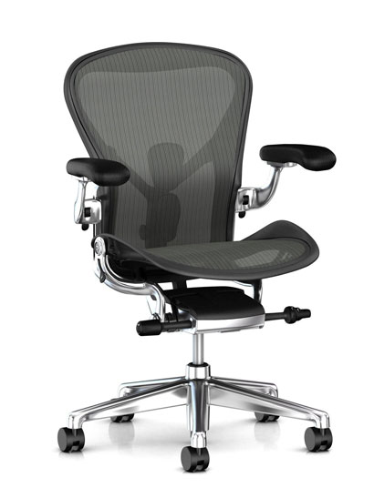Aeron remastered (New Aeron) - AER1Graphite / polished